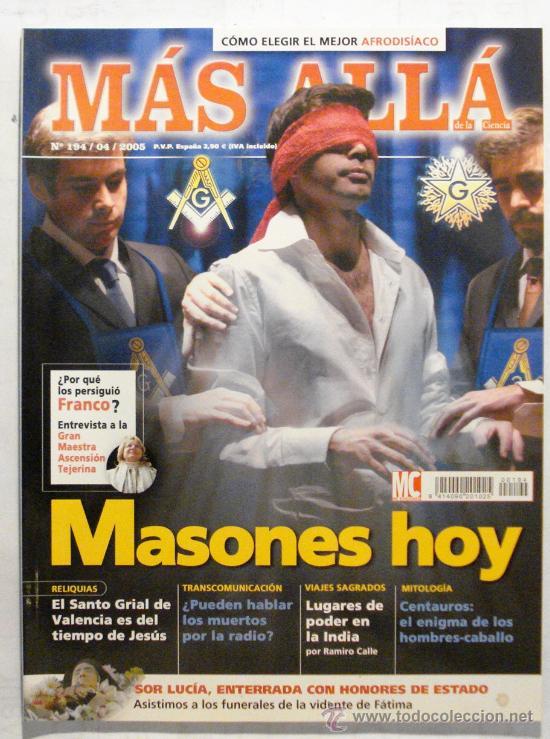 MAS ALLA DE LA CIENCIA - REVISTA Nº 194 AÑO 2005 (Coleccionismo - Revistas y Periódicos Modernos (a partir de 1.940) - Revista Más Allá)