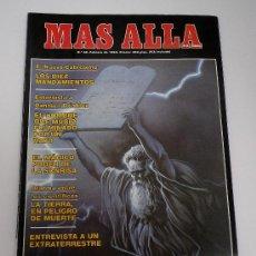 Coleccionismo de Revista Más Allá: MAS ALLÁ.Nº 048. LOS DIEZ MANDAMIENTOS. ENTREVISTA A UN EXTRATERRESTRE. LAS APARICIONES DE LA VIRGEN. Lote 32692449