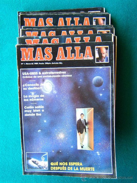 MAS ALLA DE LA CIENCIA - ( 10 REVISTAS ) Nº 1 AL 10 - REVISTA MENSUAL ILUSTRADAS - 1989 - 1ª EDIC (Coleccionismo - Revistas y Periódicos Modernos (a partir de 1.940) - Revista Más Allá)