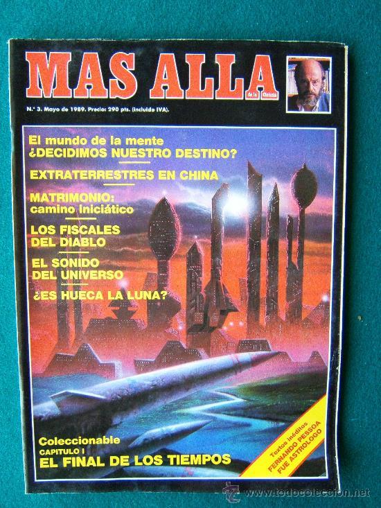 Coleccionismo de Revista Más Allá: MAS ALLA DE LA CIENCIA - ( 10 REVISTAS ) Nº 1 AL 10 - REVISTA MENSUAL ILUSTRADAS - 1989 - 1ª EDIC - Foto 3 - 206274991