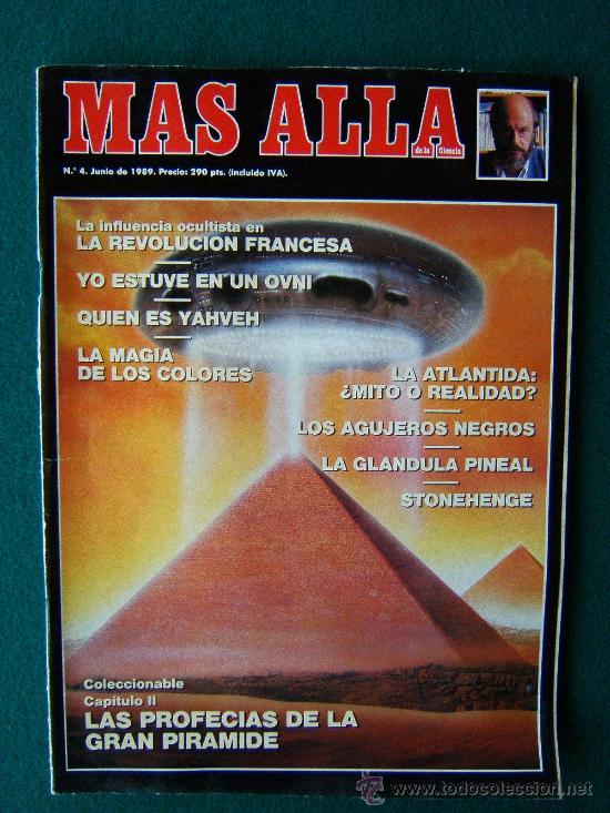 Coleccionismo de Revista Más Allá: MAS ALLA DE LA CIENCIA - ( 10 REVISTAS ) Nº 1 AL 10 - REVISTA MENSUAL ILUSTRADAS - 1989 - 1ª EDIC - Foto 4 - 206274991