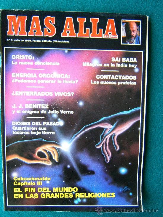 Coleccionismo de Revista Más Allá: MAS ALLA DE LA CIENCIA - ( 10 REVISTAS ) Nº 1 AL 10 - REVISTA MENSUAL ILUSTRADAS - 1989 - 1ª EDIC - Foto 5 - 206274991