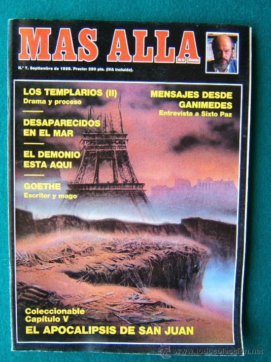 Coleccionismo de Revista Más Allá: MAS ALLA DE LA CIENCIA - ( 10 REVISTAS ) Nº 1 AL 10 - REVISTA MENSUAL ILUSTRADAS - 1989 - 1ª EDIC - Foto 7 - 206274991