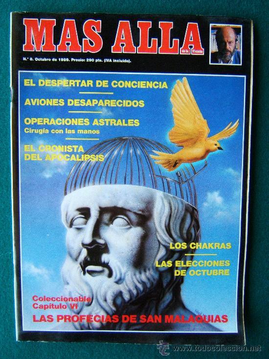 Coleccionismo de Revista Más Allá: MAS ALLA DE LA CIENCIA - ( 10 REVISTAS ) Nº 1 AL 10 - REVISTA MENSUAL ILUSTRADAS - 1989 - 1ª EDIC - Foto 8 - 206274991