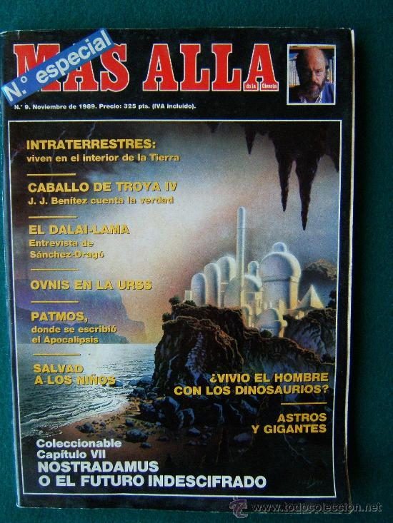 Coleccionismo de Revista Más Allá: MAS ALLA DE LA CIENCIA - ( 10 REVISTAS ) Nº 1 AL 10 - REVISTA MENSUAL ILUSTRADAS - 1989 - 1ª EDIC - Foto 9 - 206274991
