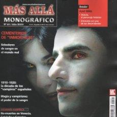 Coleccionismo de Revista Más Allá: MAS ALLA MONOGRAFICO N. 67 - VAMPIROS: RADIOGRAFIA DE UN MITO (NUEVA). Lote 195393742
