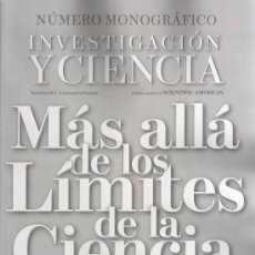 Coleccionismo de Revista Más Allá: INVESTIGACION Y CIENCIA N. 434 NOVIEMBRE 2012 - MAS ALLA DE LOS LIMITES DE LA CIENCIA (NUEVA). Lote 104849158