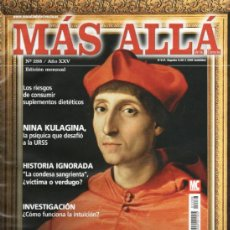 Coleccionismo de Revista Más Allá: MAS ALLA N. 288 - EN PORTADA: LOS MAESTROS OCULTOS (NUEVA). Lote 37473221