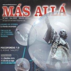 Coleccionismo de Revista Más Allá: MAS ALLA N. 290 - EN PORTADA: BARCELONA, LA CIUDAD DE LOS MASONES (NUEVA). Lote 141474474