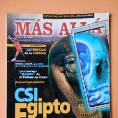 Coleccionismo de Revista Más Allá: MÁS ALLÁ DE LA CIENCIA. NÚM. 211 (CSI EGIPTO) - DIVERSOS AUTORES. Lote 35858319
