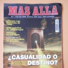 Coleccionismo de Revista Más Allá: MÁS ALLÁ DE LA CIENCIA. NÚM. 118 (¿CASUALIDAD O DESTINO?) - DIVERSOS AUTORES. Lote 35858407