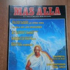 Coleccionismo de Revista Más Allá: MÁS ALLÁ DE LA CIENCIA. Nº 11. ENERO 1990. MAITREYA, EL RETORNO DE BUDA - DIVERSOS AUTORES. Lote 38675668
