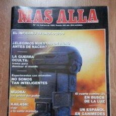 Coleccionismo de Revista Más Allá: MÁS ALLÁ DE LA CIENCIA. Nº 12. FEBRERO 1990. EL INFIERNO TECNOLÓGICO - DIVERSOS AUTORES. Lote 38675669