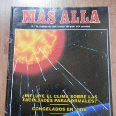 Coleccionismo de Revista Más Allá: MÁS ALLÁ DE LA CIENCIA. Nº 60. FEBRERO 1994. ¿INCLUYE EL CLIMA SOBRE LAS FACULTADES PARANORMALES? - . Lote 38676146