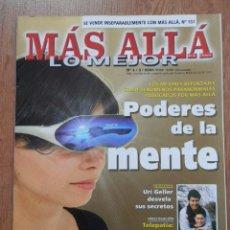 Coleccionismo de Revista Más Allá: MÁS ALLÁ DE LA CIENCIA. LO MEJOR. Nº 4/3/2002. PODERES DE LA MENTE - DIVERSOS AUTORES. Lote 38676482