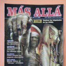 Coleccionismo de Revista Más Allá: MÁS ALLÁ DE LA CIENCIA. NÚM. 126 (MOMIAS. JAQUE AL TIEMPO) - DIVERSOS AUTORES. Lote 39362556