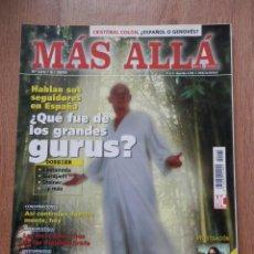 Coleccionismo de Revista Más Allá: MÁS ALLÁ DE LA CIENCIA. Nº 175/9/2003 (¿QUÉ FUE DE LOS GRANDES GURUS?) - DIVERSOS AUTORES. Lote 39483100