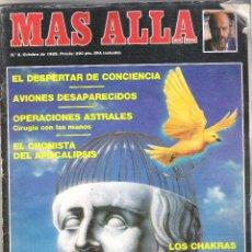 Collezionismo di Rivista Más Allá: 1 EJEMPLAR - REVISTA MAS ALLA - Nº 8 - OCTUBRE 1989 - AVIONES DESAPARECIDOS - PROFECIAS - ETC. Lote 40947565
