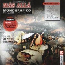 Coleccionismo de Revista Más Allá: MAS ALLA MONOGRAFICO N. 69 - TEMA: INFIERNO, EL REINO DE LOS CONDENADOS (NUEVA). Lote 221877283