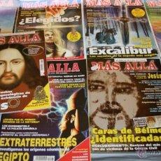Coleccionismo de Revista Más Allá: LOTE DE 9 REVISTAS - REVISTA MAS ALLA - Nº 14, 97, 142, 145, 157, 163, 170, 176, 191. Lote 43682324