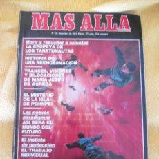 Coleccionismo de Revista Más Allá: REVISTA MAS ALLA Nº 34 AÑO 1991. Lote 44857840