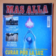 Coleccionismo de Revista Más Allá: MÁS ALLÁ DE LA CIENCIA. Nº 113/7/1998. CURAR POR LA LUZ - DIVERSOS AUTORES. Lote 44864606