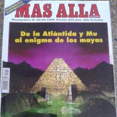Coleccionismo de Revista Más Allá: MAS ALLA - MONOGRAFICO -- LOS MUNDOS PERDIDOS -- Nº 26 - 9/1998 --. Lote 44871243