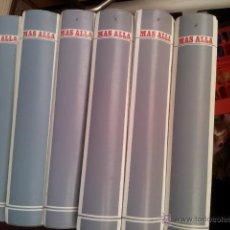 Coleccionismo de Revista Más Allá: 6 TOMOS COMPLETOS CON LOS 72 PRIMEROS NUMEROS DE LA REVISTA MAS ALLA + 12 SIGUIENTES REVISTAS SUELTA. Lote 45286875