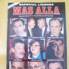 Collectionnisme de Magazine Más Allá: REVISTA MAS ALLA ESPECIAL LIDERES Nº1. Lote 45745956