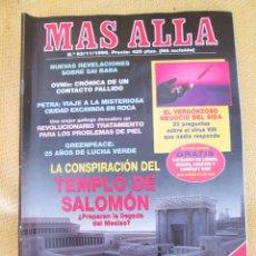 Coleccionismo de Revista Más Allá: REVISTA MAS ALLA Nº 93 AÑO 1996. Lote 45746161