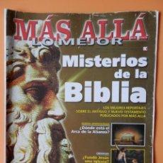 Coleccionismo de Revista Más Allá: MÁS ALLÁ DE LA CIENCIA. LO MEJOR. Nº 2/1/2002. MISTERIOS DE LA BIBLIA - DIVERSOS AUTORES. Lote 45886460
