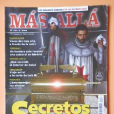 Collectionnisme de Magazine Más Allá: MÁS ALLÁ DE LA CIENCIA. Nº 187/9/2004. SECRETOS TEMPLARIOS - DIVERSOS AUTORES. Lote 45886487