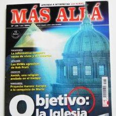 Coleccionismo de Revista Más Allá: MÁS ALLÁ REVISTA Nº 188 2004 MISTERIO ESOTERISMO OVNIS IGLESIA DAN BROWN ILUMINATI PSICOFONÍAS RUNAS. Lote 46058602