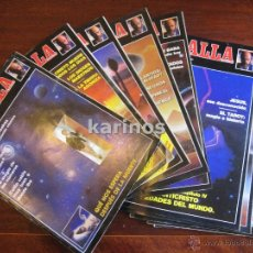 Coleccionismo de Revista Más Allá: 11 REVISTAS MAS ALLA 1,2,3,4,5,6,7,8,10, 11, EXTRAORDINARIO DICIEMBRE 1989 C3. Lote 47942038