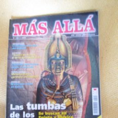 Coleccionismo de Revista Más Allá: REVISTA MAS ALLA Nº 143 AÑO 2001. Lote 48689956