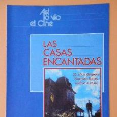 Coleccionismo de Revista Más Allá: ASÍ LO VIO EL CINE. LAS CASAS ENCANTADAS. DE LA PG 65 A LA 80 - DIVERSOS AUTORES. Lote 48899558