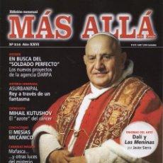 Collectionnisme de Magazine Más Allá: MAS ALLA N. 316 - EN PORTADA: LAS PROFECIAS DE JUAN XXIII (NUEVA). Lote 50669152