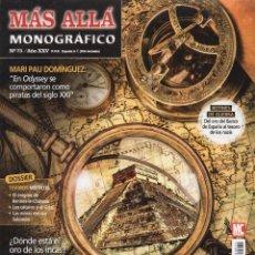 Coleccionismo de Revista Más Allá: MAS ALLA MONOGRAFICO N. 75 - EN PORTADA: EN BUSCA DE LOS TESOROS PERDIDOS (NUEVA). Lote 179249483