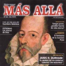 Coleccionismo de Revista Más Allá: MAS ALLA N. 321 - EN PORTADA: CERVANTES Y EL MISTERIO (NUEVA). Lote 139864678