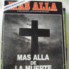 Coleccionismo de Revista Más Allá: MÁS ALLÁ DE LA CIENCIA. MONOGRÁFICO, Nº EXTRA. NOVIEMBRE DE 1990. MÁS ALLÁ DE LA MUERTE . Lote 53906981