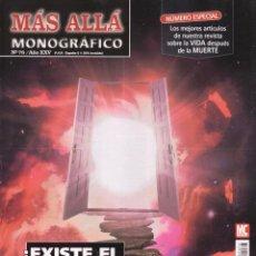 Coleccionismo de Revista Más Allá: MAS ALLA MONOGRAFICO N. 78 - TEMA: EXISTE EL MAS ALLA? (NUEVA). Lote 54493908