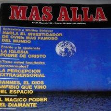 Coleccionismo de Revista Más Allá: MÁS ALLÁ DE LA CIENCIA Nº 27. Lote 54708159