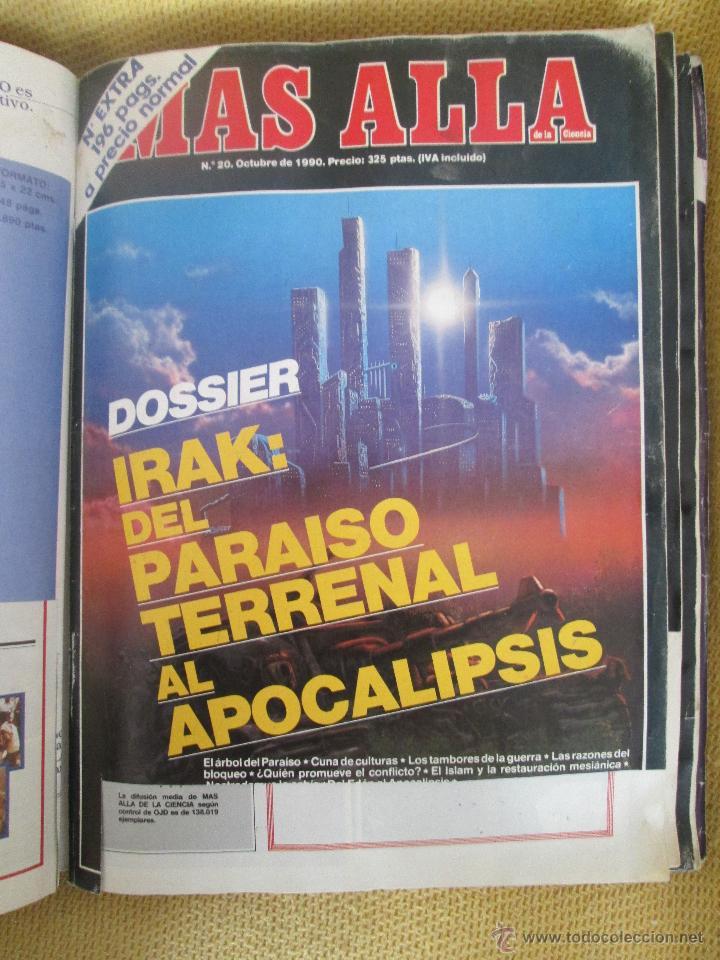 REVISTA MAS ALLA Nº 20 AÑO 1990 (Coleccionismo - Revistas y Periódicos Modernos (a partir de 1.940) - Revista Más Allá)