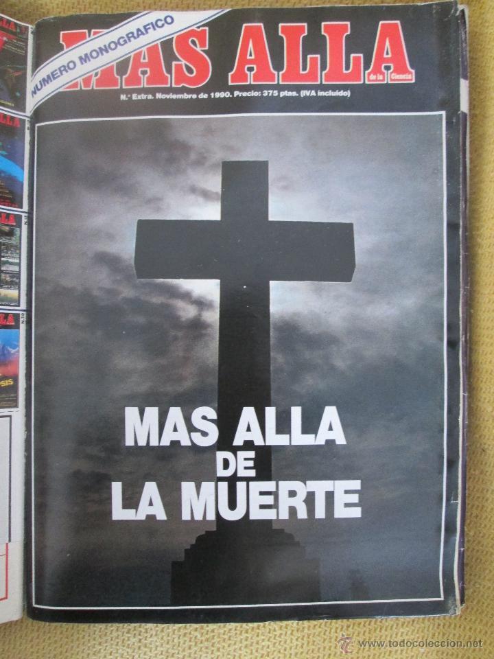 REVISTA MAS ALLA EXTRA MAS ALLA DE LA MUERTE AÑO 1990 (Coleccionismo - Revistas y Periódicos Modernos (a partir de 1.940) - Revista Más Allá)