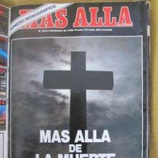 Coleccionismo de Revista Más Allá: REVISTA MAS ALLA EXTRA MAS ALLA DE LA MUERTE AÑO 1990. Lote 54871747