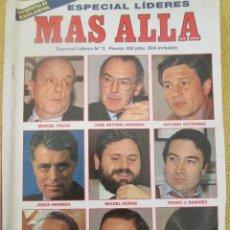 Collectionnisme de Magazine Más Allá: REVISTA MAS ALLA Nº 2 ESPECIAL LIDERES. Lote 54965110