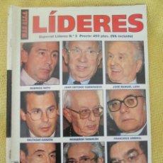 Coleccionismo de Revista Más Allá: REVISTA MAS ALLA Nº 3 ESPECIAL LIDERES. Lote 54965151