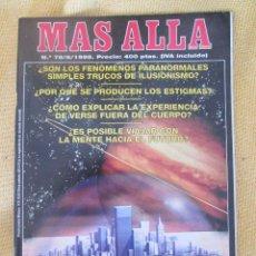 Coleccionismo de Revista Más Allá: REVISTA MAS ALLA Nº 78 AÑO 1995. Lote 54981223