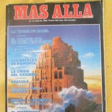Coleccionismo de Revista Más Allá: REVISTA MAS ALLA Nº 14 AÑO 1990. Lote 54981312