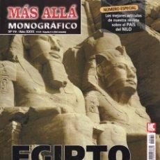 Coleccionismo de Revista Más Allá: MAS ALLA MONOGRAFICO N. 79 - EGIPTO: LA CIVILIZACION DEL MISTERIO (NUEVA). Lote 170163224